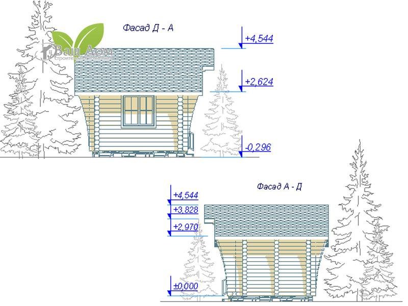 Проект дома Д-014