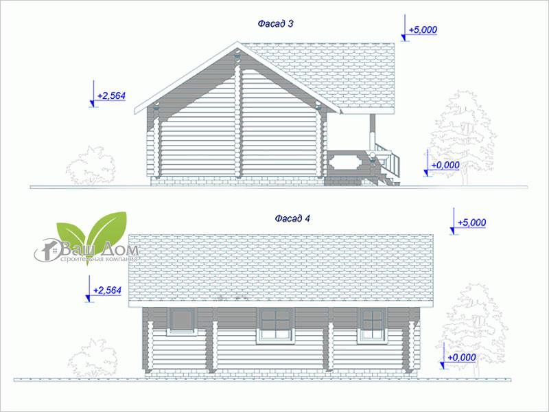 Проект дома Д-052