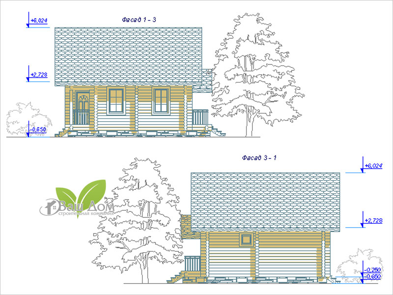 Проект дома Д-053 2