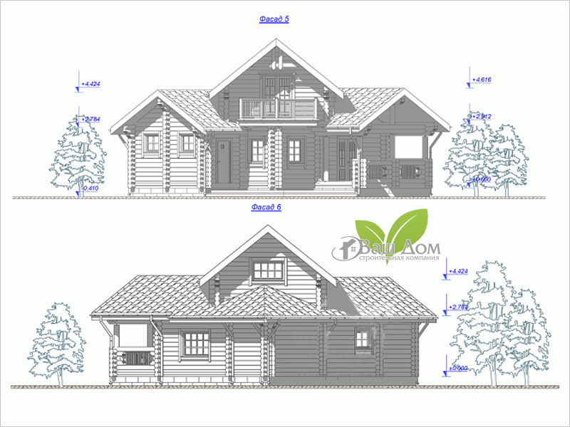 Проект дома Д-085