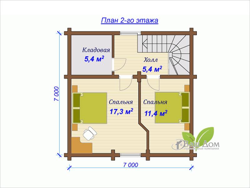 Проект дома Д-090