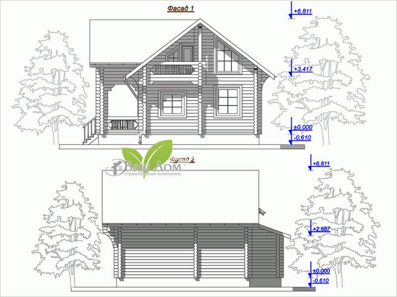 Проект дома Д-100