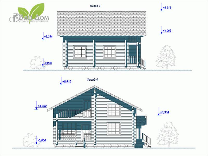 Проект дома Д-104