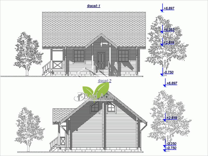 Проект дома Д-105