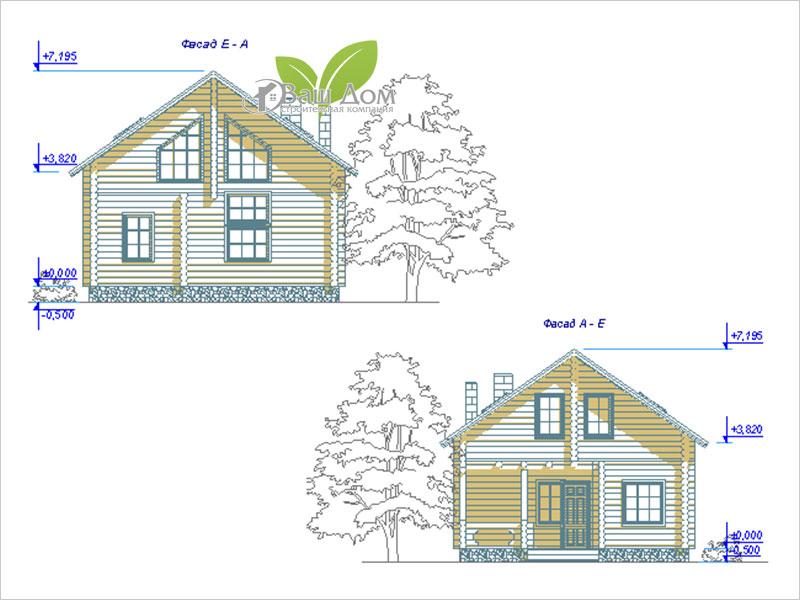 Проект дома Д-107 2