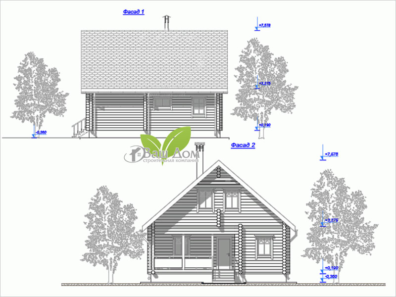 Проект дома Д-107 5