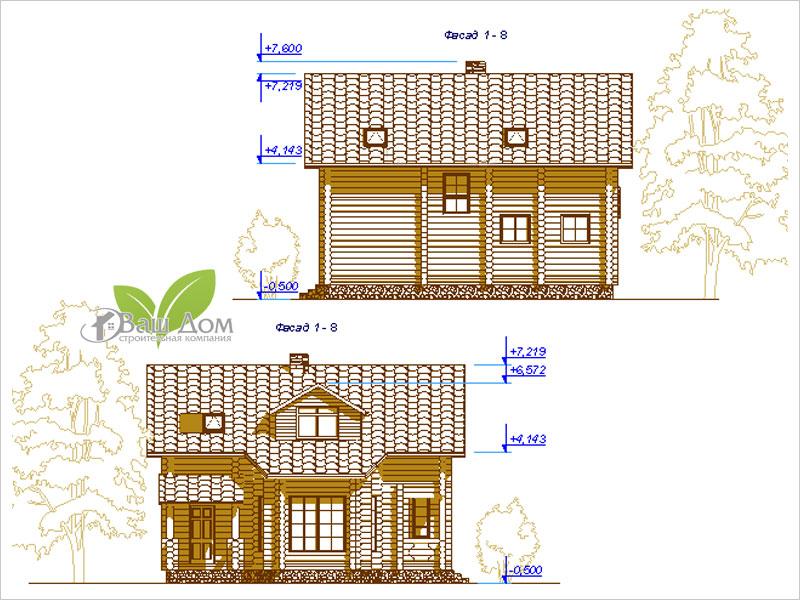 Проект дома Д-111