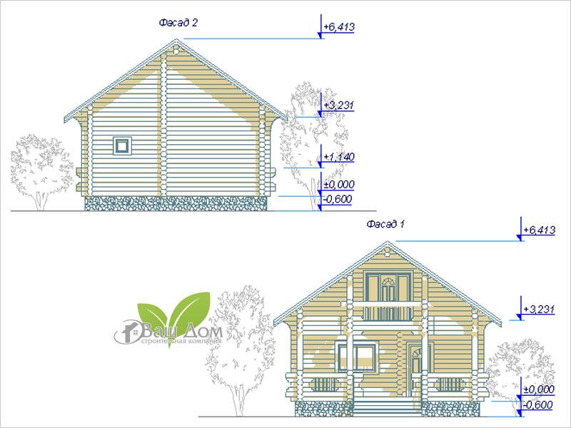 Проект дома Д-116