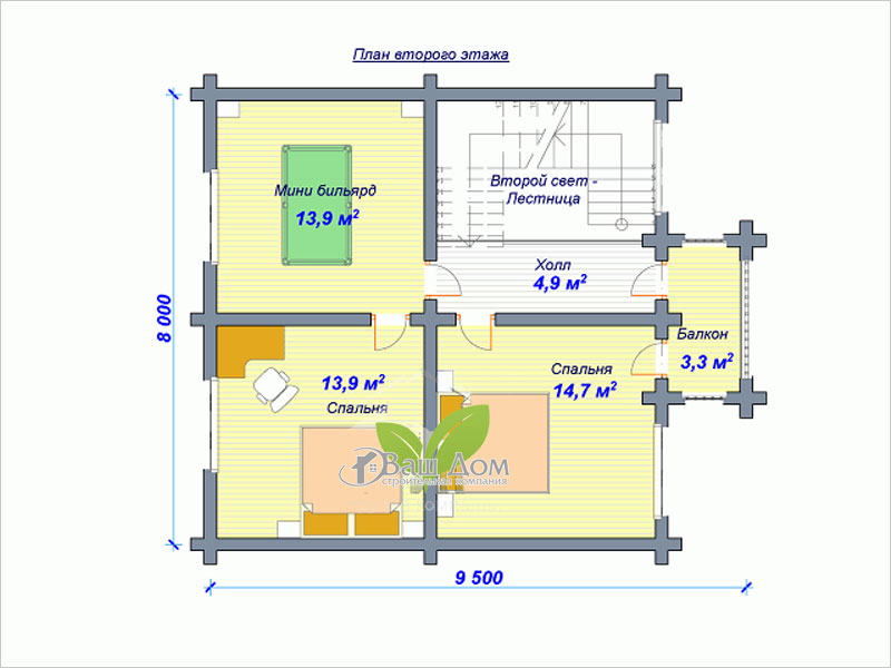 Проект дома Д-121
