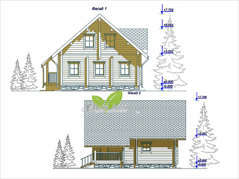 Проект дома Д-124