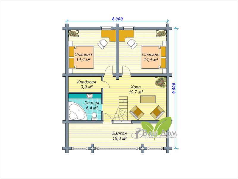 Проект дома Д-125