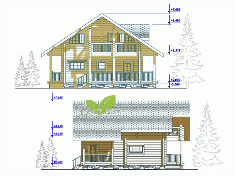 Проект дома Д-134
