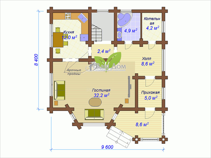 Проект дома Д-144