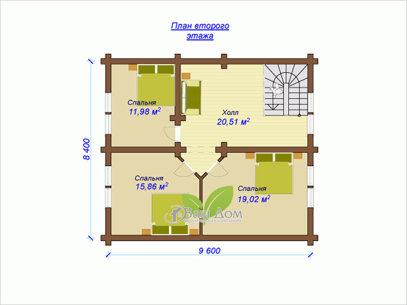 Проект дома Д-155