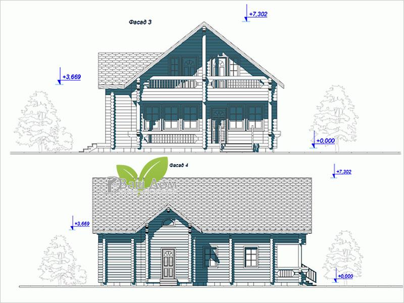 Проект дома Д-157