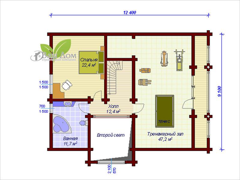 Проект дома Д-161