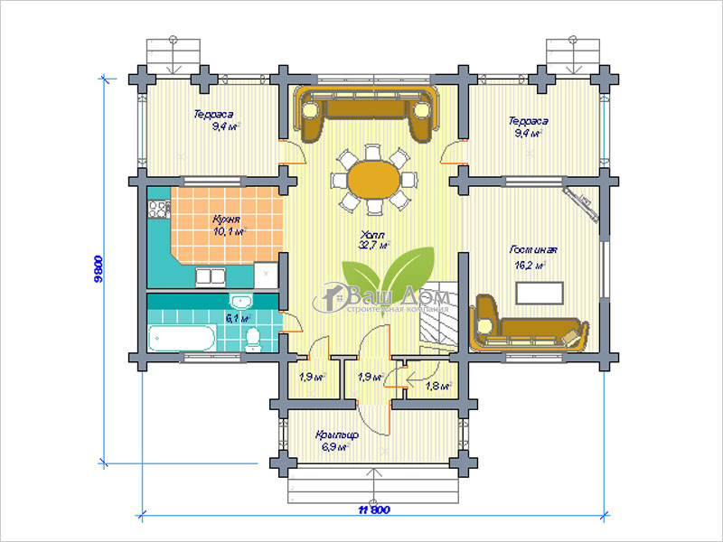 Проект дома Д-165