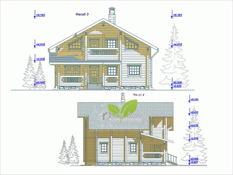 Проект дома Д-168