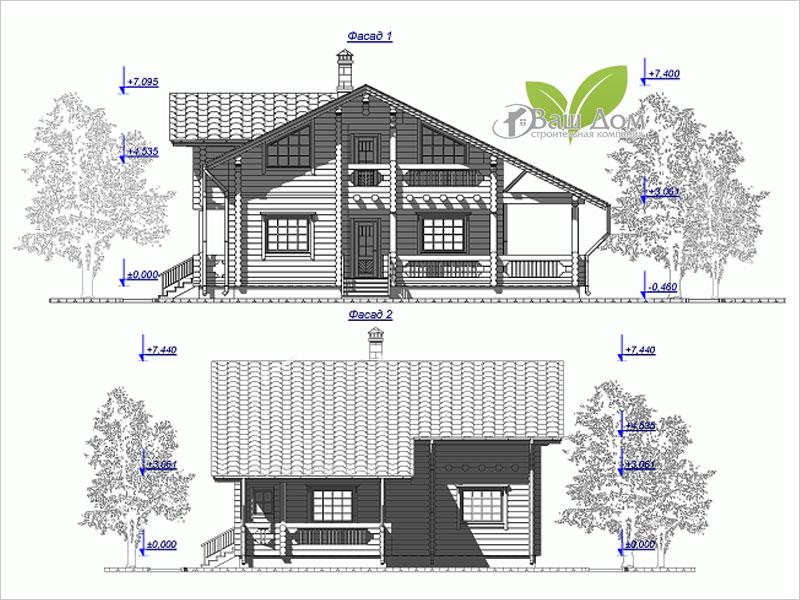 Проект дома Д-178