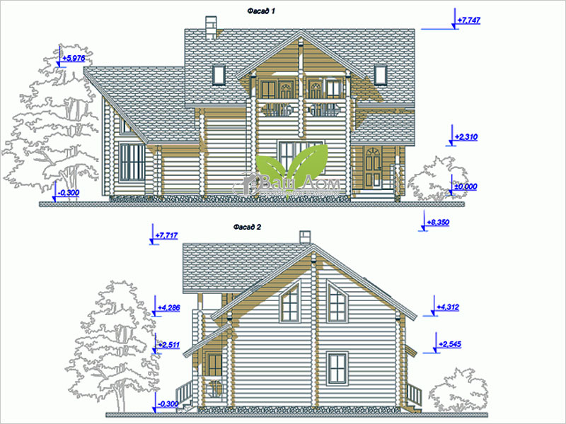 Проект дома Д-182