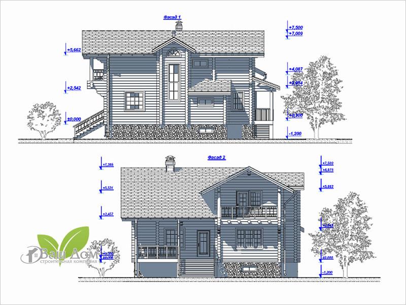 Проект дома Д-201