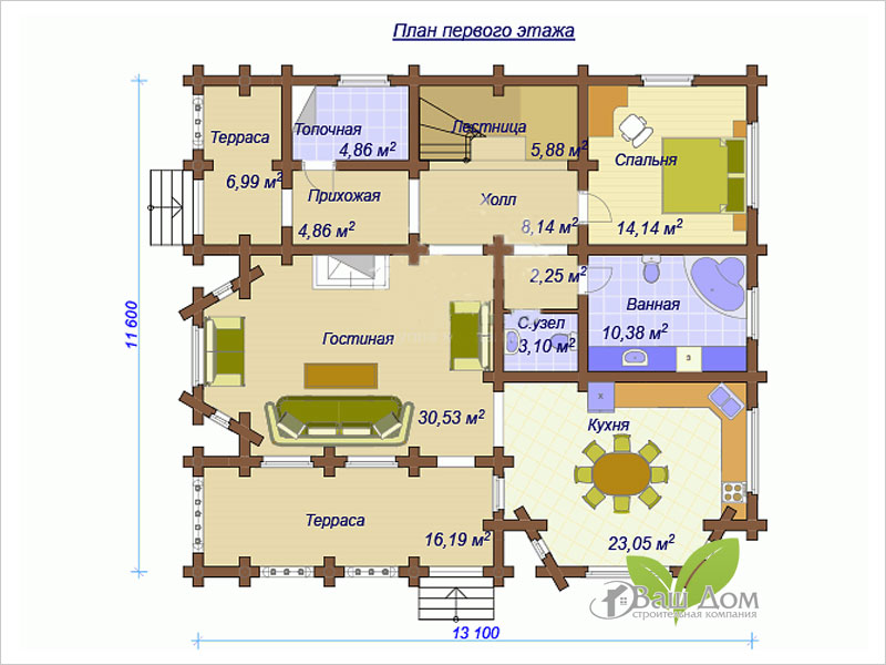 Проект дома Д-202