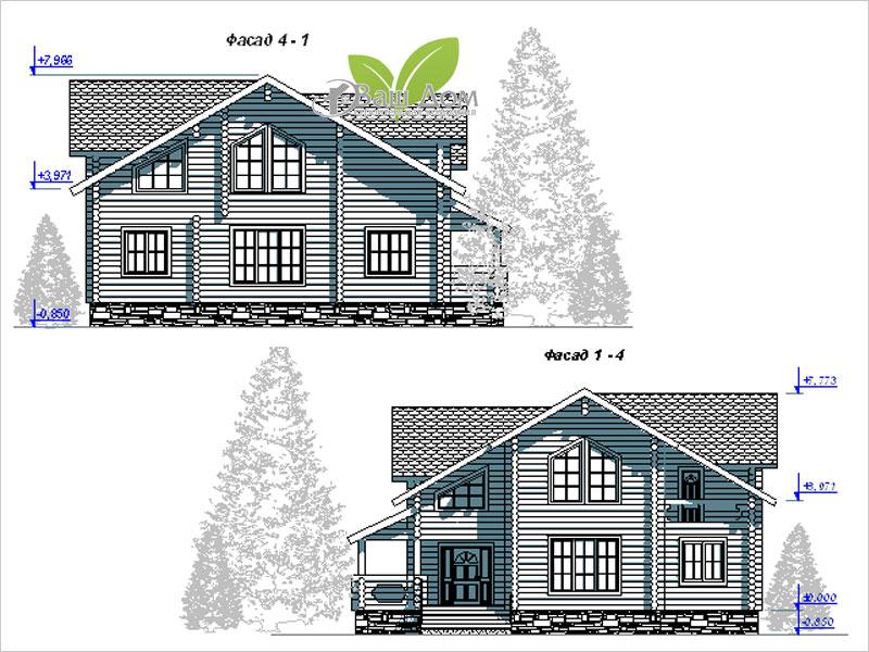 Проект дома Д-207