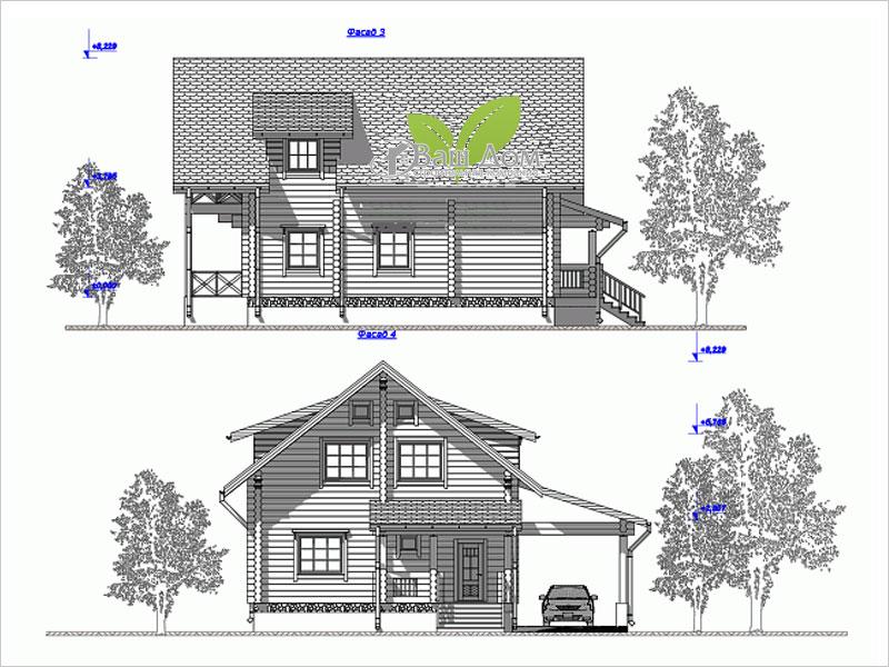 Проект дома Д-210