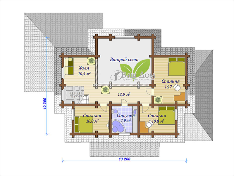 Проект дома Д-228