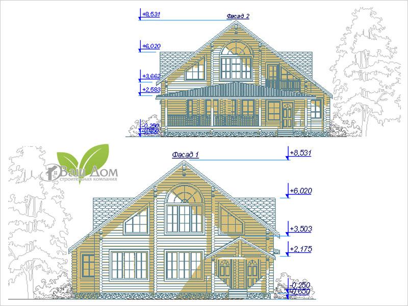 Проект дома Д-250