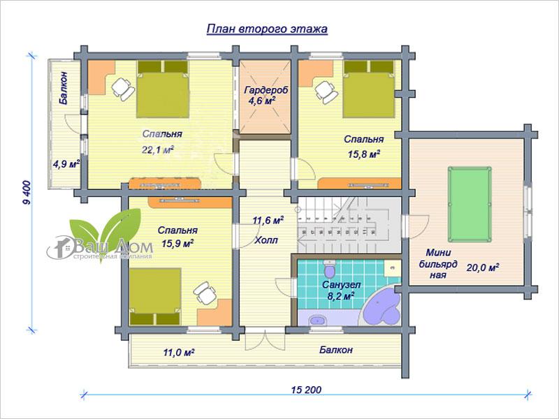 Проект дома Д-255