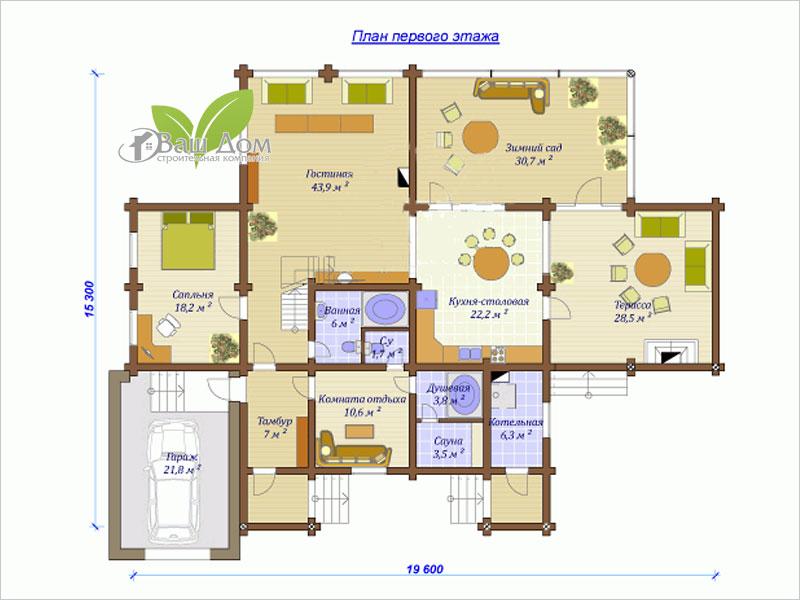 Проект дома Д-285