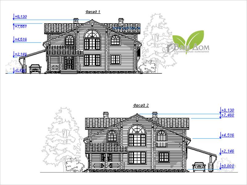 Проект дома Д-300