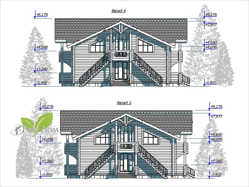 Проект дома Д-490